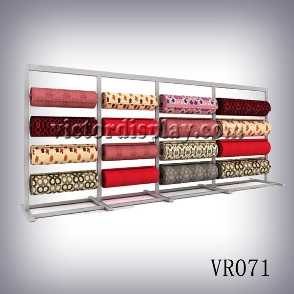 Victor Display Rack Designs And Manufactures Carpet Roll