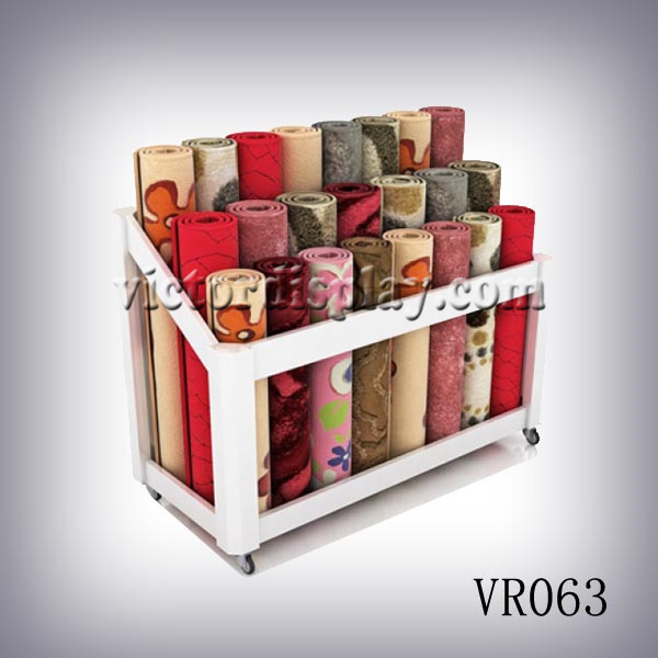 Victor Carpet Display Rack Designs And Manufactures Carpet